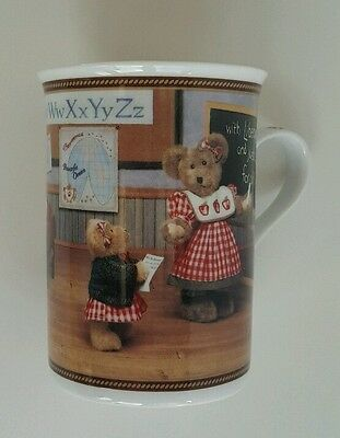 BOYDS BEAR COLLECTOR MUG LEARNING ABOUT LADY LIBEARTY TEACHER Gift