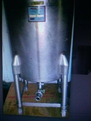 150 Gallon Stainless Steel Mix Tank '' MIAMI ''
