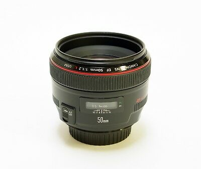 Canon EF 50mm F1.2 L USM. Mint- Condition. 3 Months Guarantee