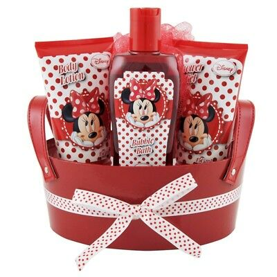Disney Minnie - Coffret Cadeau de Bain - 4pcs
