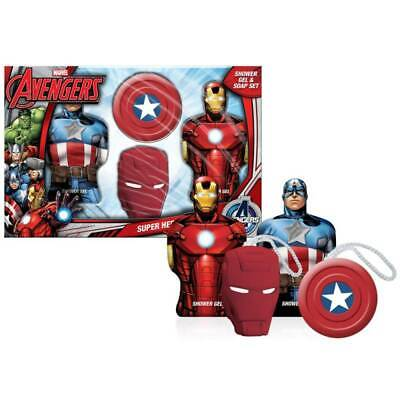 Coffret de Bain Captain America & Iron Man - Avengers - Marvel