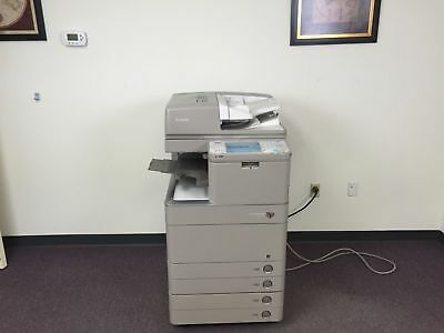 Canon Imagerunner Advance C5035 Color Copier Network Printer Scan Fax Finisher