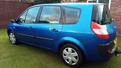 Renault Scenic 7 seats 12 MONTH MOT 1.6 107k miles NO RESERVE  decent condition