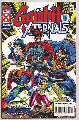 GAMBIT AND THE X-TERNALS, Issue #1, (Marvel 1995), NM