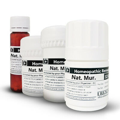 NATRUM MURIATICUM in 6C 30C 200C or 1M Homeopathic Remedies Homeopathy Medicines