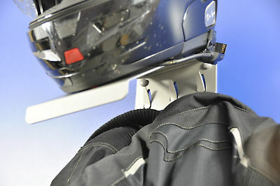 Motorcycle Helmet Rack & Jacket Hook MINI