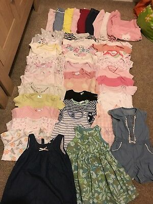 Large Bundle 3 - 6 Month Girl Clothes. Excellent Condition. Over 40 Items.