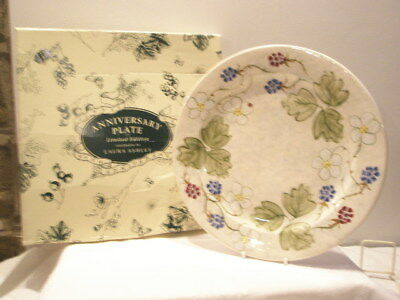Laura Ashley Limited Edition 40th  Anniversary Plate 1993