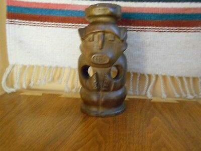 Vintage Carved Wood figure Gobon Africa