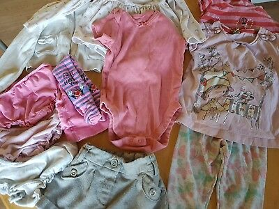 Girls clothes bundle in size 18-24 months