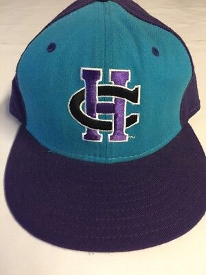 Vintage Charlotte Hornets Fitted Wool Hat Size 6 3/4 New Era