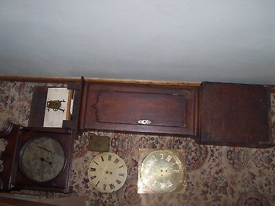 longcase grandfather clock movement spares