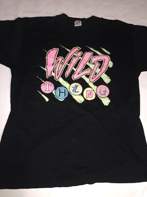 "Vintage ""Wild Thing"" Betty Boop Jerzees T-Shirt Size XL"