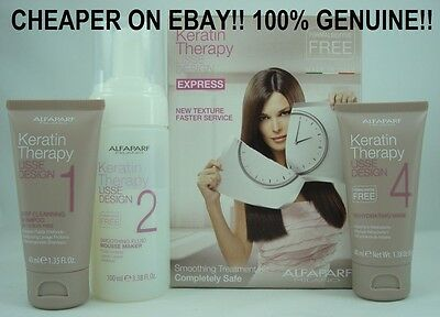 Alfaparf Lisse Design Keratin Therapy EXPRESS Smoothing Treatment Kit