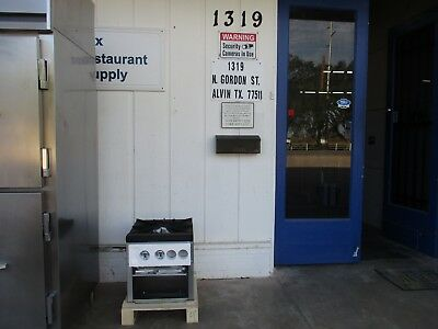 ATSP-18-1 Single Stove Pot Stainless Steel Commercial Kitchen