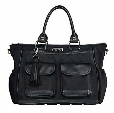 Itzy Ritzy Diaper Bag Convertible - Solid Black