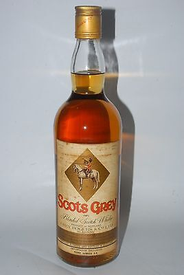 WHISKY SCOTS GREY BLENDED FINEST SCOTCH WHISKY PEDRO DOMECQ  AÑOS 70 75cl
