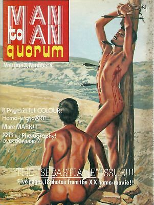 Man To Man Quorum 1976 - Vol 3. Number 4 / Gay, Vintage, Physique, Beefcake