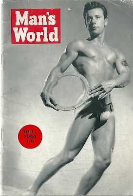 Man's World, December 1956 / Gay, Vintage, Physique, Beefcake