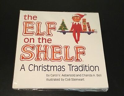 NEW Elf on the Shelf Book Only- Hardcover