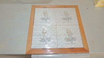Precious Moments rare hot plate 12 by 12 mint