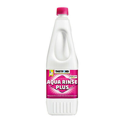 1L Thetford Aqua Rinse Plus Portable Caravan Camping Toilet Flush Rinse Additive