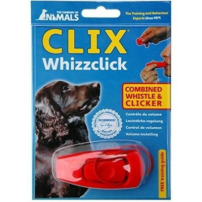 CLIX Whizzclick - combined whistle and clicker FAST SHIP Gift UK