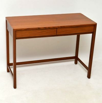 RETRO TEAK & AFROMOSIA DESK / WRITING TABLE VINTAGE 1960's
