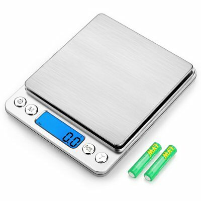 3000g/0.1g Digital Food Scale, Amir Pocket Kitchen Scale Electric Pro Mini Scale
