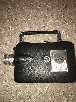 Cine Kodak Magazine 16 Movie Camera, Kodak 25mmf1.9, VINTAGE Black White