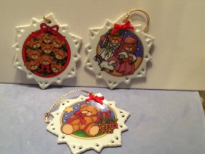 3 lucy and me xmas ornaments
