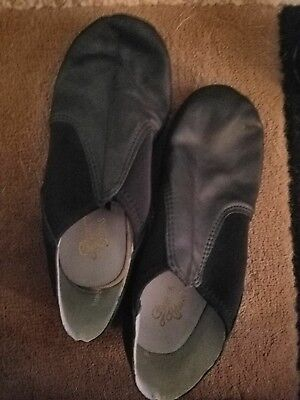 Theater Jazz Leather Shoes Size 7