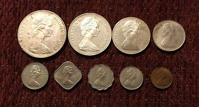 Bahamas 1970 Silver Mint Set / Includes Large $5.00 Silver Coin  #1