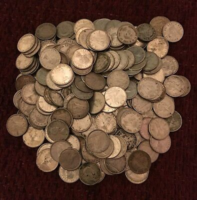 Canadian Silver Dimes / 80% Silver (263 coins)