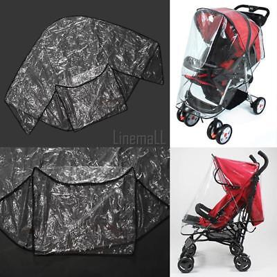 Fashion Universal Waterproof Plastic Cover For Baby Carriage Stroller To LM02 01