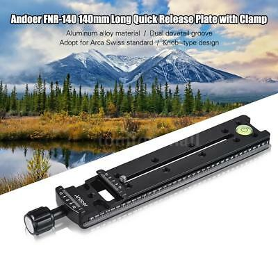 Universal Quick Release Plate Tripod Adapter For Arca Swiss Photography Cam O7A3