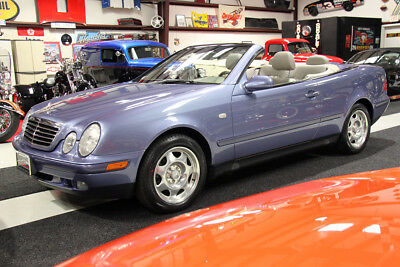 1999 Mercedes-Benz CLK-Class CLK 320 CABRIOLET CONVERTIBLE XENONS HEATED SEATS 1-OWNER, CLEAN CARFAX, NEW MICHELINS, SERVICED, XENONS, HEATED SEATS, CD CHGR