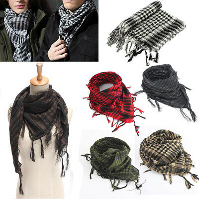 Army Military Desert Tactical Arab Shemagh KeffIyeh Shawl Scarf Scarves Wrap