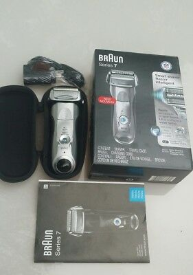 Braun series 7 Wet & Dry Shaver smart 7893s silver series BRAND NEW IN OPEN BOX