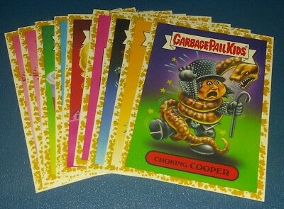2017 garbage pail kids battle of the bands GOLD Borders U Pick. 10 available