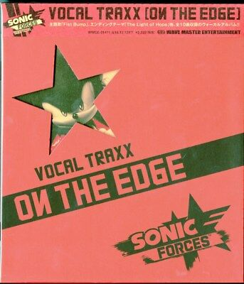 Ost-Sonic Forces Vocal Traxx - On The Edge-Japan Cd E83