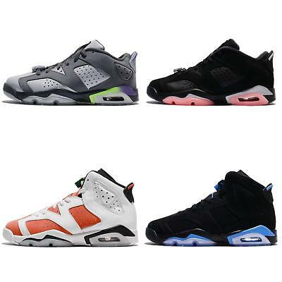 07748d07ebe3 Nike Air Jordan 6 VI Retro BG GG Women Kids Youth AJ6 Shoes Sneakers Pick 1