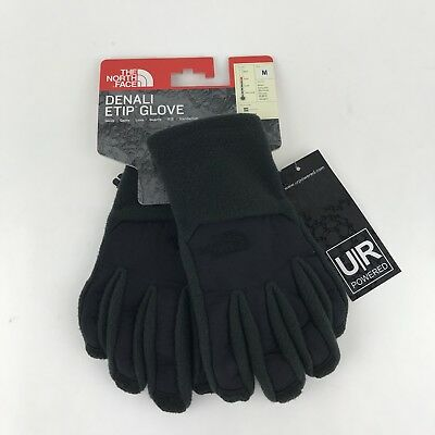 The North Face ETIP Boy's Denali Gloves - Youth-Medium, Black
