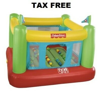 Inflatable Bounce House Bouncer Jumper Castle with 50 Play Balls Bouncesational