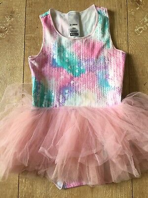 BONDS tutu baby girls pink and purple mermaid summer all in one size 6-12m 0