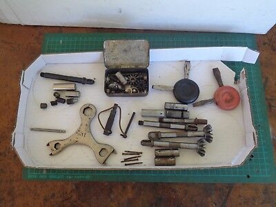 Vintage shearing handpiece bits and pieces for replacement parts LISTER