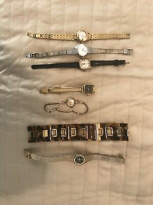 Mixed Lot Of Vintage Ladies Watches (Seiko, Citizen, Other)