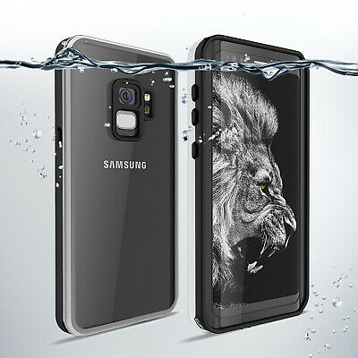 360 Full Body Shockproof Waterproof Wireless Charging Case for iPhone X /SAMSUNG