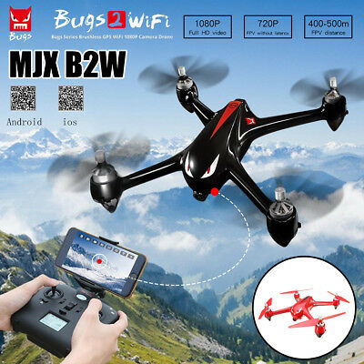 MJX B2W Bugs2 2W Monster WiFi FPV 1080P HD Camera GPS RC Quadcopter RTF Drone
