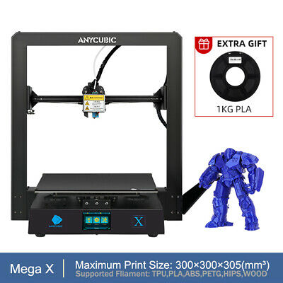 Anycubic Plus Linear Kossel Auto-Level 3D Printer KIT Half-assembled Big Size US